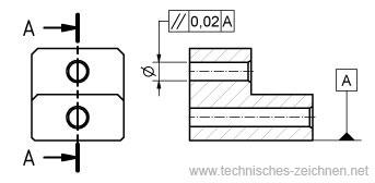 lagetoleranzen technisches zeichnen. Black Bedroom Furniture Sets. Home Design Ideas