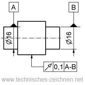 Lagetoleranzen Technisches Zeichnen 12